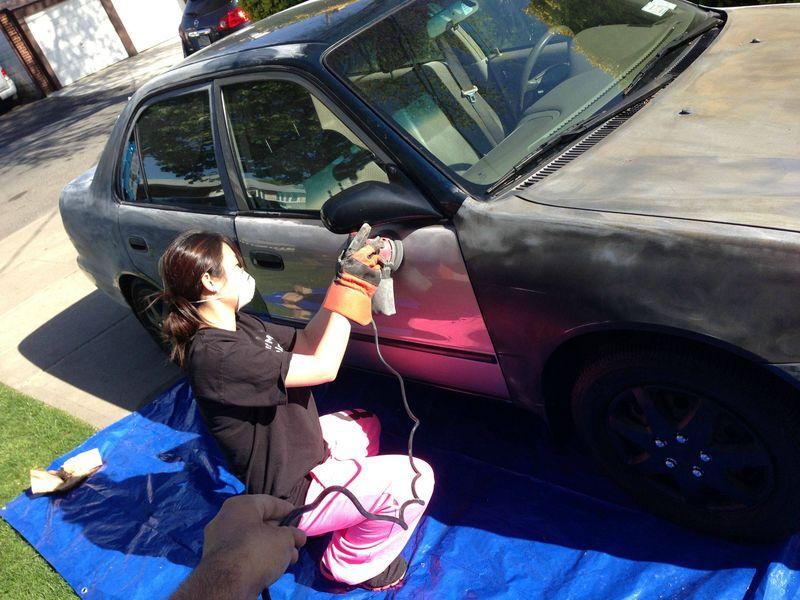 Покраска автомобиля своими руками на ютубе