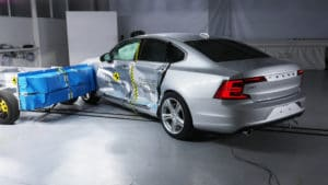 Volvo S90 и V90 на тестах Euro NCAP