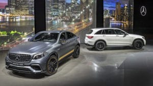 Mercedes-AMG GLC и GLC Coupe 63 4Matic+ мощный дуэт