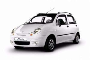 Замена масла и фильтра на Daewoo Matiz