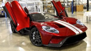 Ford Performance начинает поставки модели GT