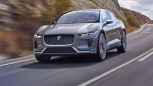 Jaguar с электрическим приводом