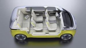 Volkswagen I. D. Buzz – электрический микроавтобус