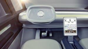 Volkswagen I. D. Buzz – электрический