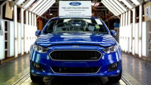 Последний Ford из Австралии