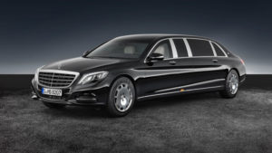 Maybach S600 Pullman Guard для президента