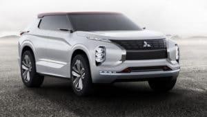 Mitsubishi GT-PHEV предвещает появление нового Outlander