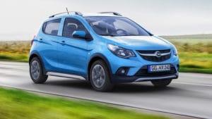 Opel Karl Rocks в стиле кроссовера