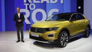 Volkswagen T-Roc - меньше, чем Tiguan