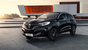 Renault Captur и Kadjar в серии Night & Day